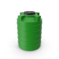 Water Tank Green PNG & PSD Images