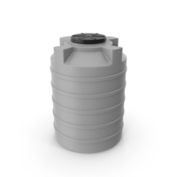 Water Storage Tank Gray PNG & PSD Images