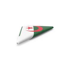 Flag Folded Triangle Algeria PNG & PSD Images