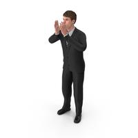 Businessman John Cheering PNG & PSD Images