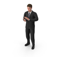 Businessman John Clapping PNG & PSD Images