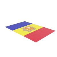 Flag Laying Pose Andorra PNG & PSD Images