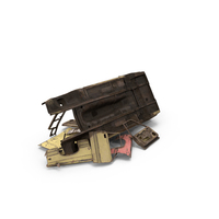 Wrecked Car Parts PNG & PSD Images