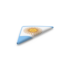 Flag Folded Triangle Argentina PNG & PSD Images
