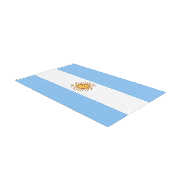 Flag Laying Pose Argentina PNG & PSD Images