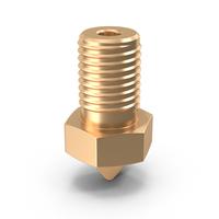 3D Printer Nozzle PNG & PSD Images