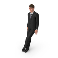 Businessman John Leaning PNG & PSD Images