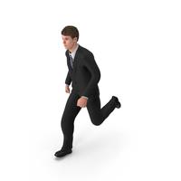 Businessman John Running PNG & PSD Images