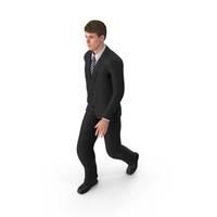 Businessman John Walking PNG & PSD Images