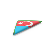 Flag Folded Triangle Azerbaijan PNG & PSD Images