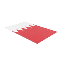 Flag Laying Pose Bahrain PNG & PSD Images