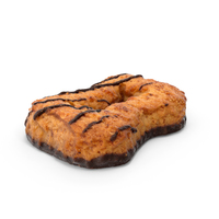 Cookie with Chocolate PNG & PSD Images