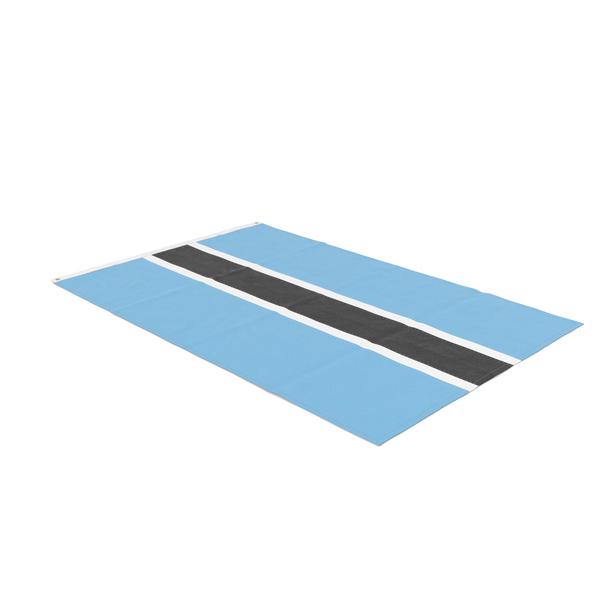 Flag Laying Pose Botswana PNG & PSD Images