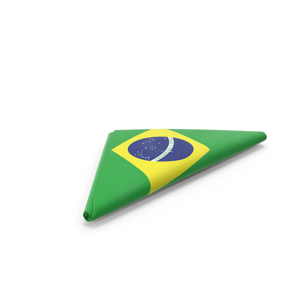 Flag Folded Triangle Brazil PNG & PSD Images