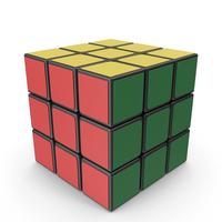 Rubik's Cube 3x3x3 PNG & PSD Images