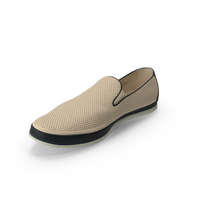 Mens Shoe Beige PNG & PSD Images
