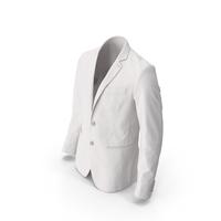 Men's Blazer White PNG & PSD Images