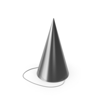 Party Hat Silver PNG & PSD Images