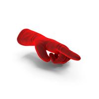 Velvet Glove Pointing PNG & PSD Images