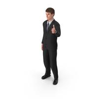 Businessman John Thumbs Up PNG & PSD Images