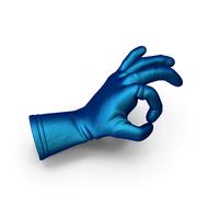 Silk Glove OK Gesture PNG & PSD Images