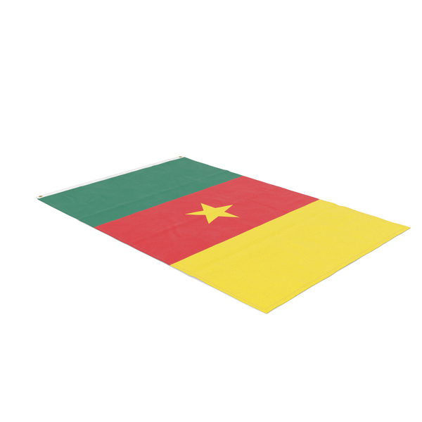Flag Laying Pose Cameroon PNG & PSD Images