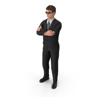 Businessman John Wearing Sun Glasses PNG & PSD Images