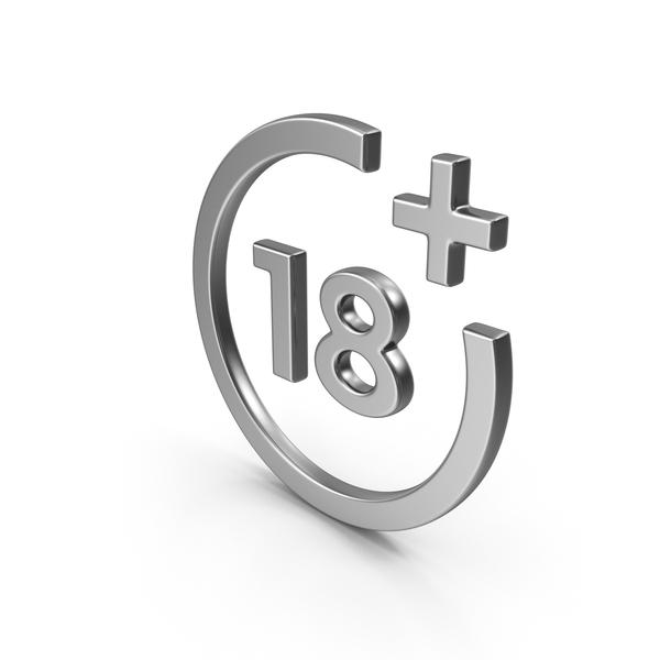 18+ Symbol PNG & PSD Images
