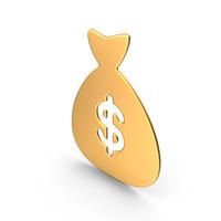 Money Bag Gold Symbol PNG & PSD Images