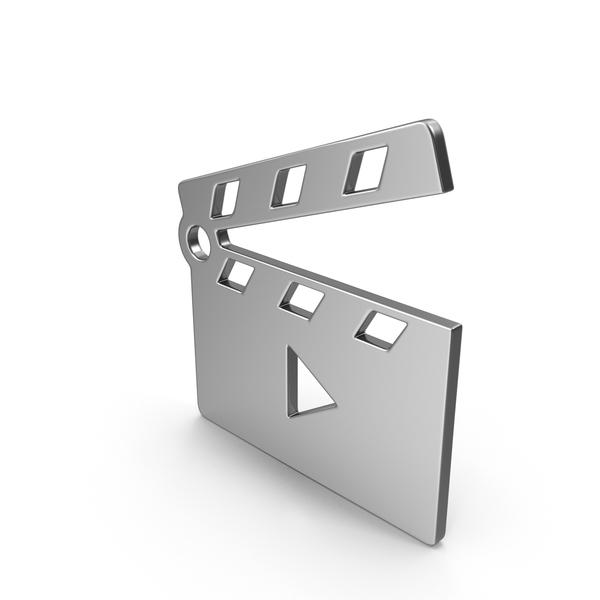 Movie Clapper Open Symbol PNG & PSD Images