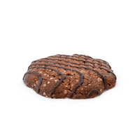 Dark Chocolate Cookie PNG & PSD Images