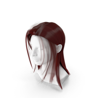 Feminine Red Hair PNG & PSD Images