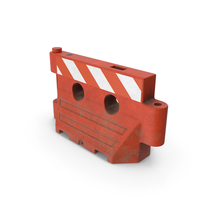 Dirty Plastic Barrier PNG & PSD Images