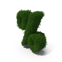Boxwood Symbol % PNG & PSD Images