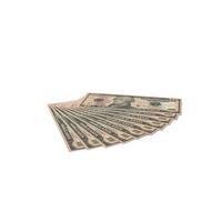 US 10 Dollar Bills PNG & PSD Images