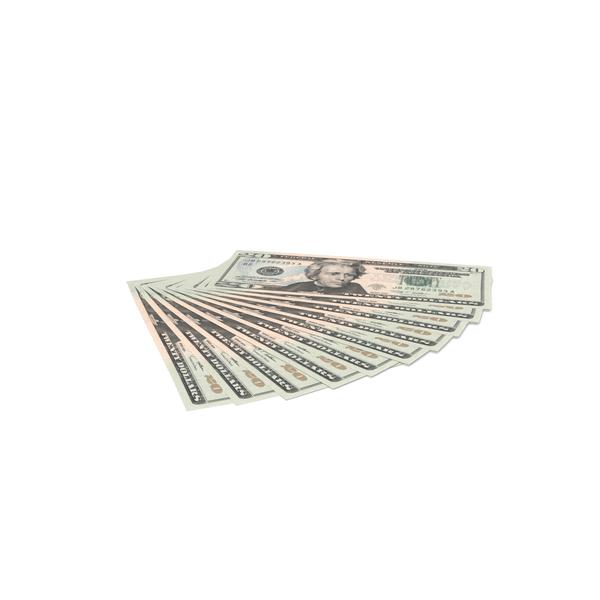 US 20 Dollar Bills PNG & PSD Images