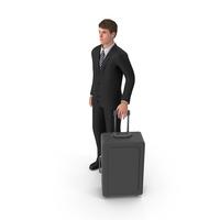 Businessman John Traveling PNG & PSD Images