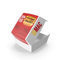 McDonald's Big Mac Box PNG & PSD Images