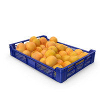 Plastic Tray With Grapefruits PNG & PSD Images