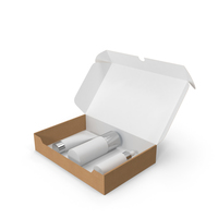 Cosmetic Set in a Box PNG & PSD Images
