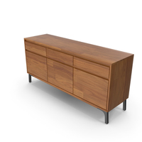 Lakin Recycled Teak Sideboard PNG & PSD Images