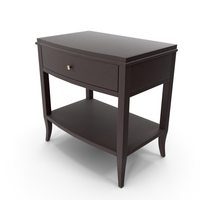 Colette Espresso Nightstand PNG & PSD Images