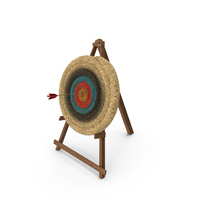 Archery Hay Target Bullseye PNG & PSD Images