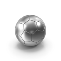 Soccer Ball Silver PNG & PSD Images