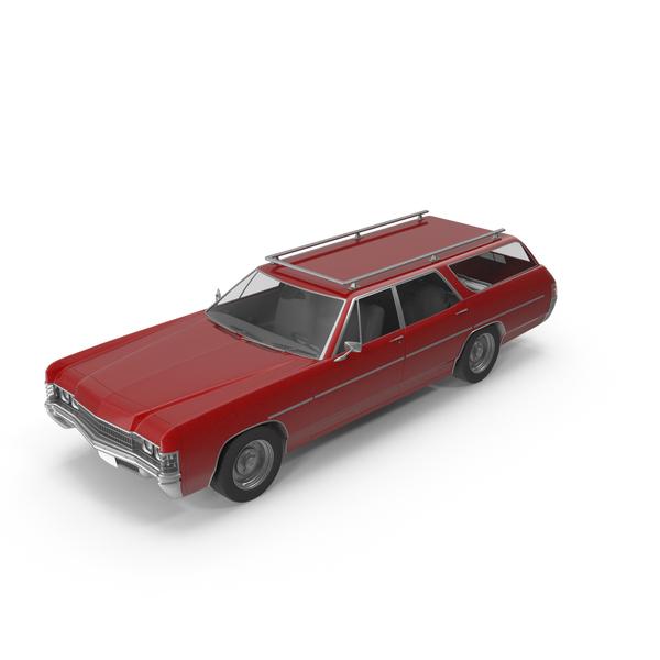 Vintage Car Red PNG & PSD Images