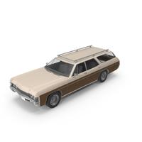 Vintage Car Wood Side Cream PNG & PSD Images