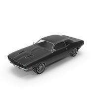 Retro Car Black PNG & PSD Images