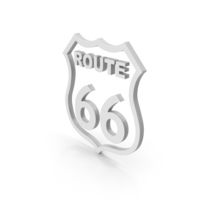 Symbol Route 66 PNG & PSD Images