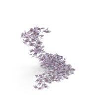 Falling 500 Euro Bills PNG & PSD Images