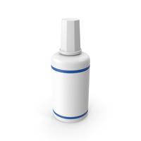 Correction Fluid Bottle PNG & PSD Images